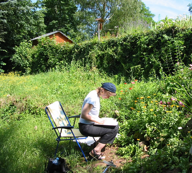 Une ruche dans son jardin photos de conception de maison for Avoir une poule dans son jardin